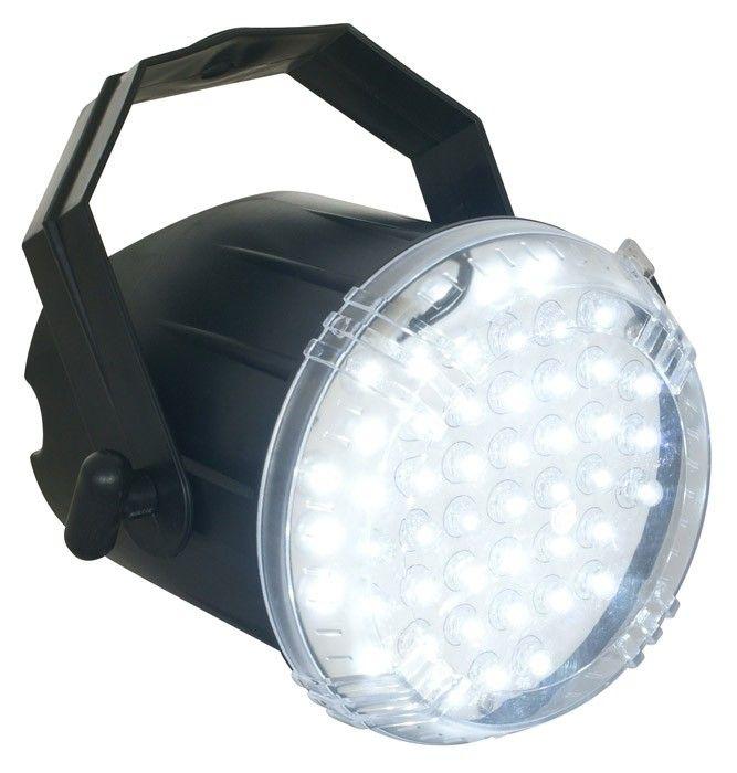 Witte party stroboscoop met 50 LEDs