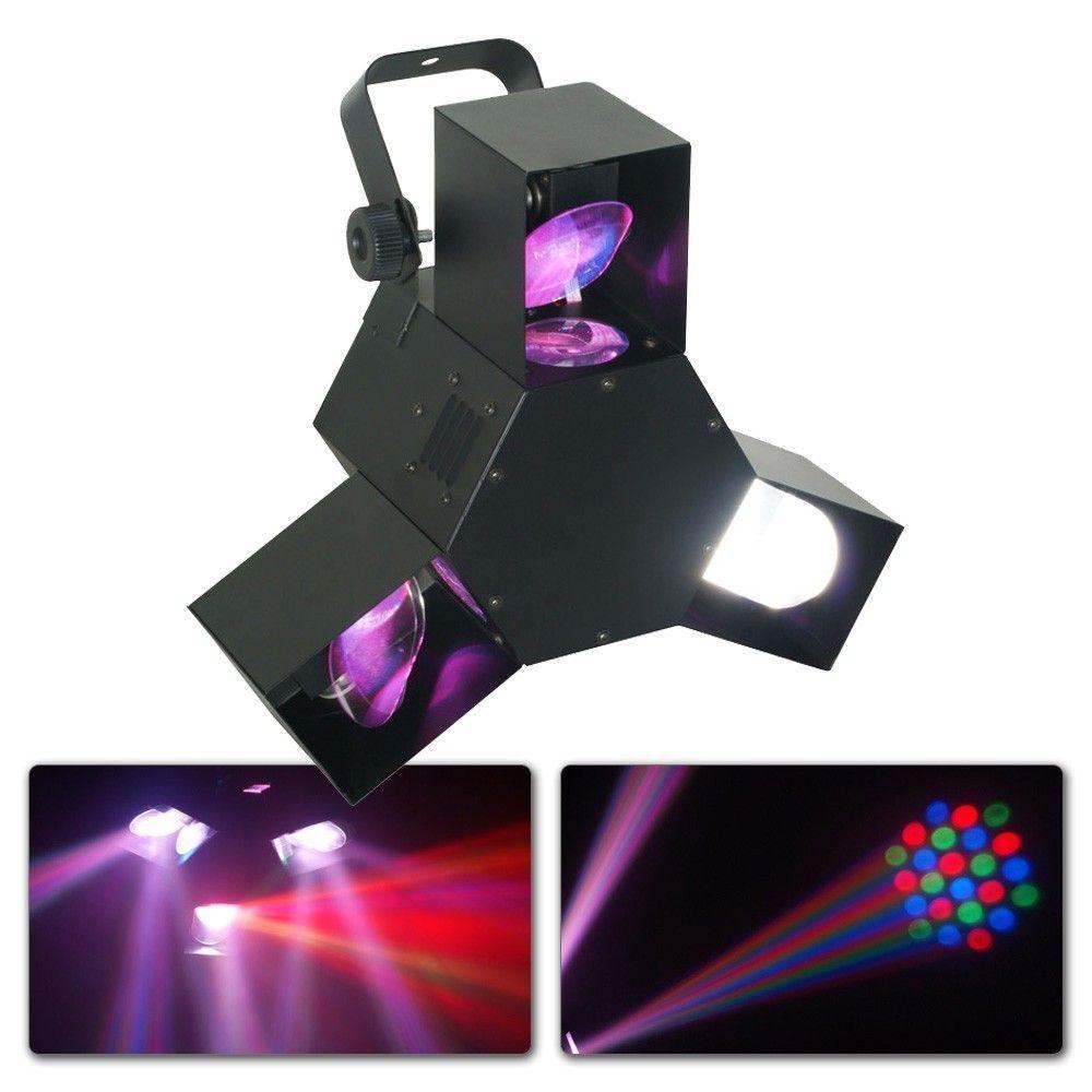 Afbeelding van 2e keus - Beamz Triple Flex Centre LED Pro 72 LEDs RGB...