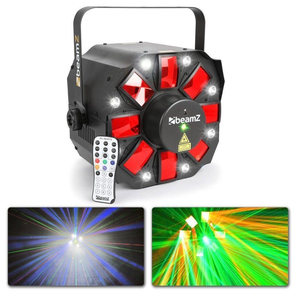 LED lichteffect met laser en stroboscoop Multi Acis III van BeamZ