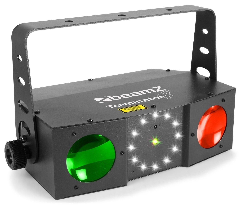 BeamZ Terminator IV Double Moon met laser en strobo 3-in-1