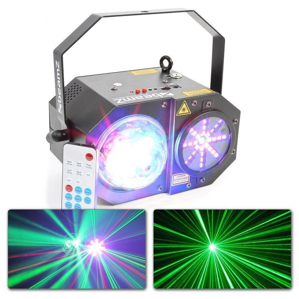 BeamZ Sway LED Jellyball met laser en LED lichtorgel