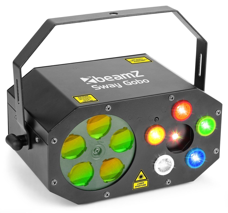 BeamZ Sway Gobo lichteffect met 5 gobo's & LED's en laser