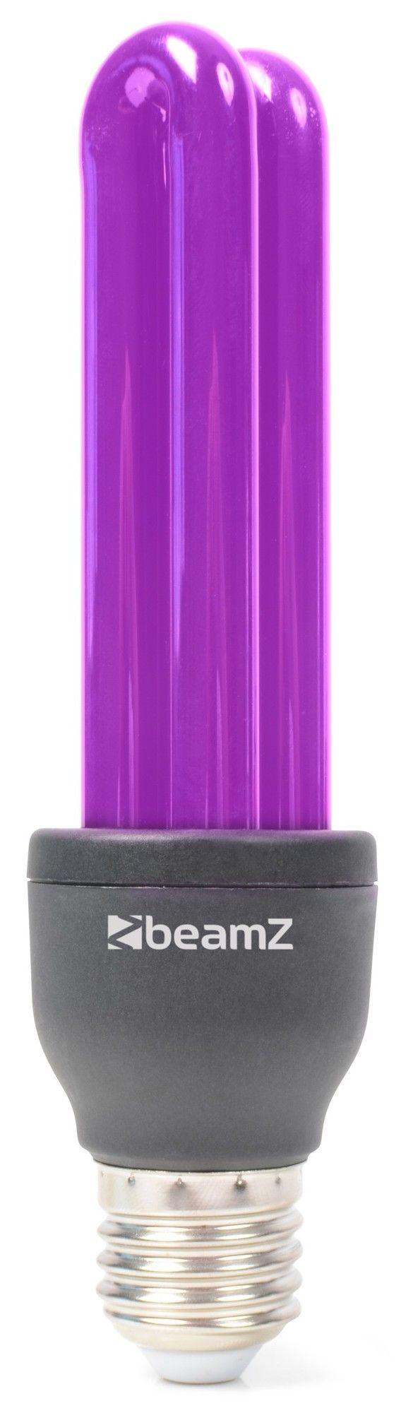 Afbeelding van BeamZ Blacklight UV Spaarlamp 25W met E27 fitting...