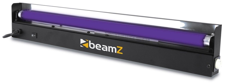 Afbeelding van BeamZ Blacklight / UV TL buis 60cm met armatuur...