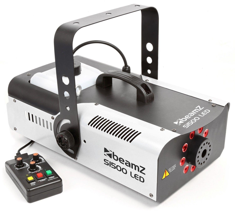 BeamZ S1500LED Rookmachine met 9x 3W RGB LEDs en DMX