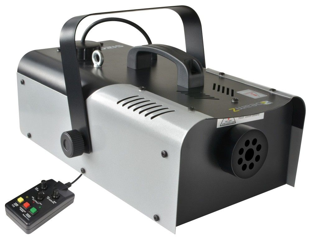 BeamZ S1500 MKII Rookmachine met interval controller