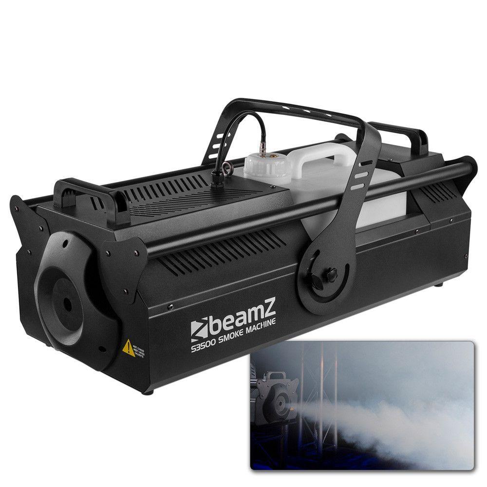 Afbeelding van 2e keus - BeamZ S3500 rookmachine 3500W, DMX en draadloze afstandsbedi...
