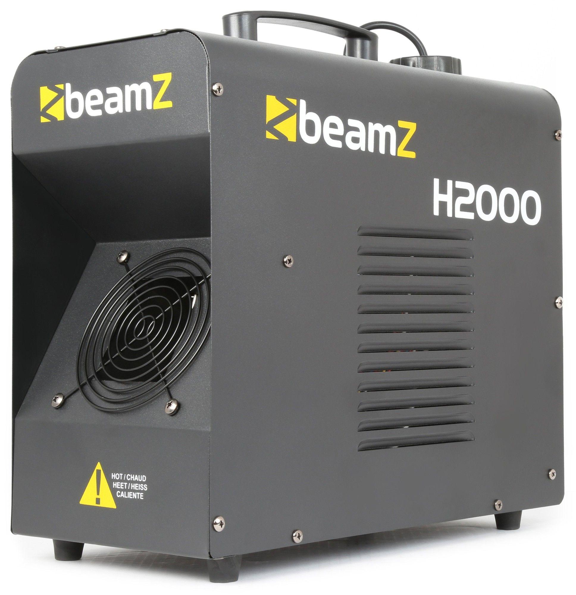 B-Stock - BeamZ H2000 Fazer met DMX - 1700W