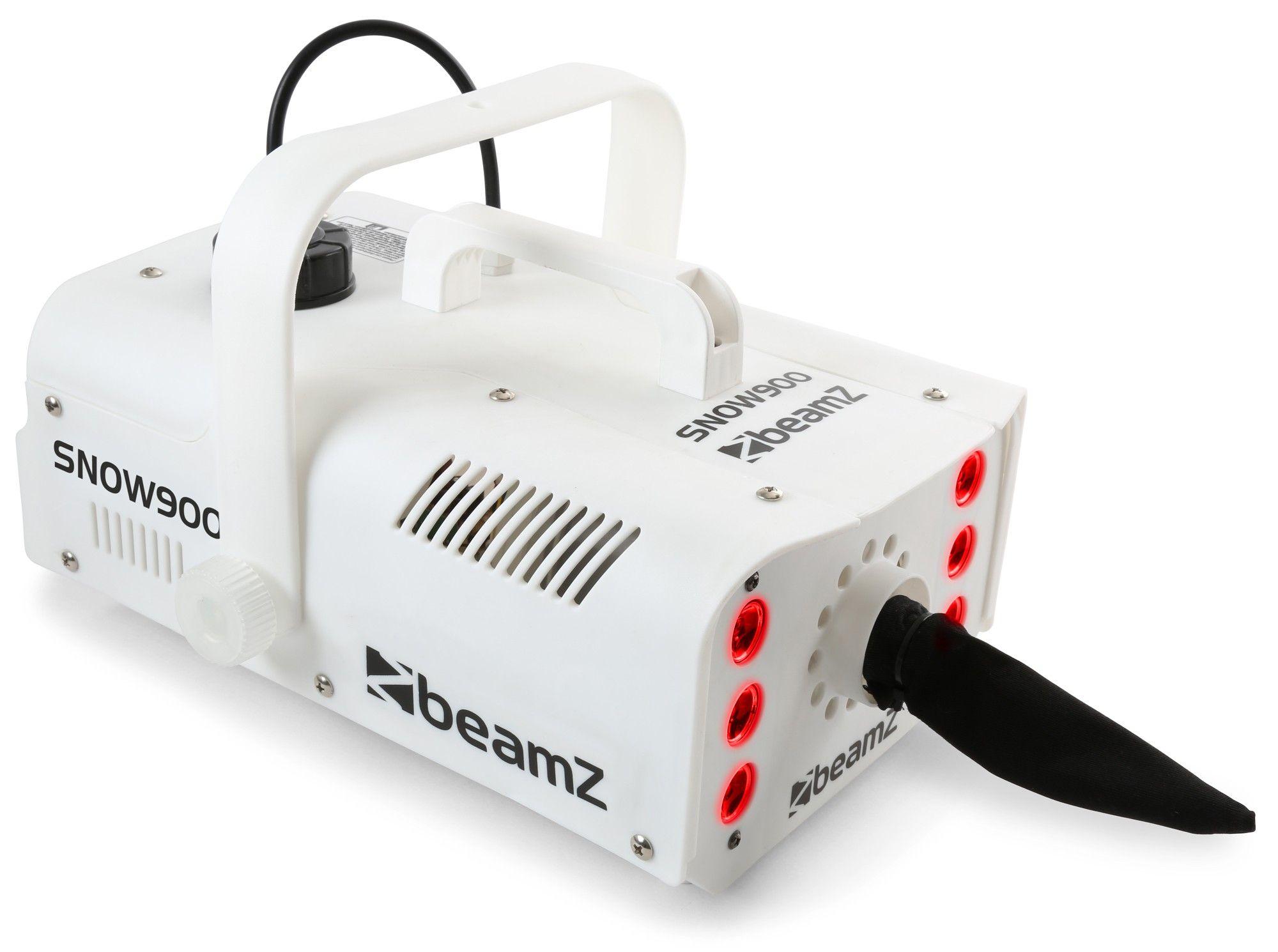 BeamZ Snow900LED sneeuwmachine met 6 LED's
