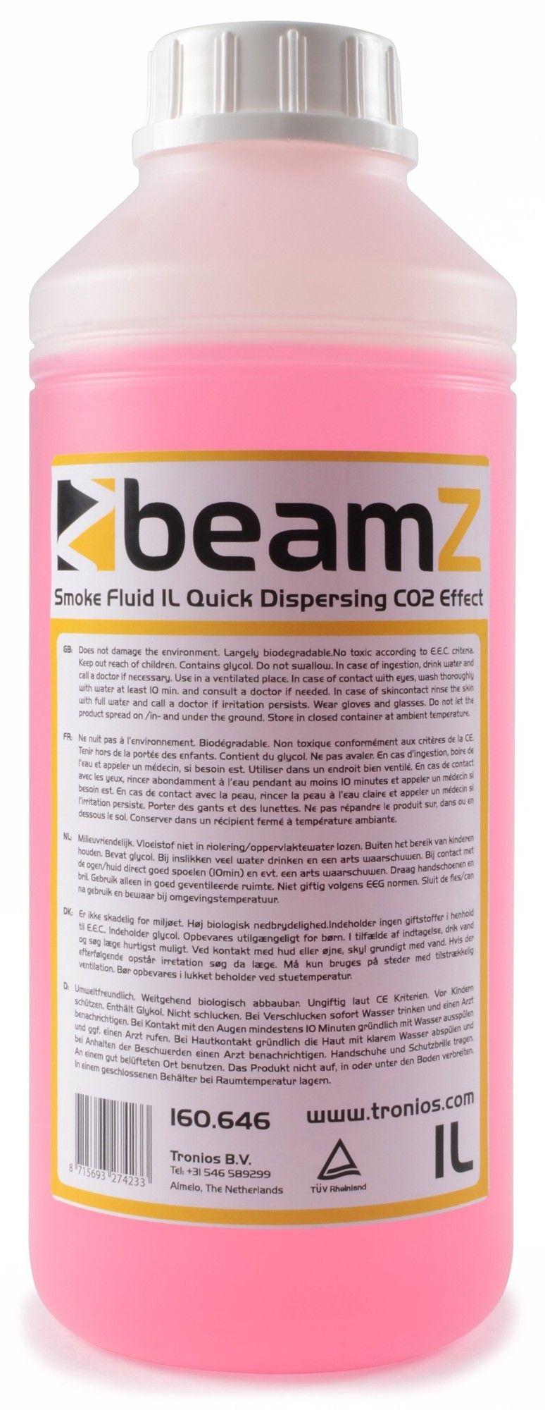 BeamZ Rookvloeistof met CO2 effect - 1 liter