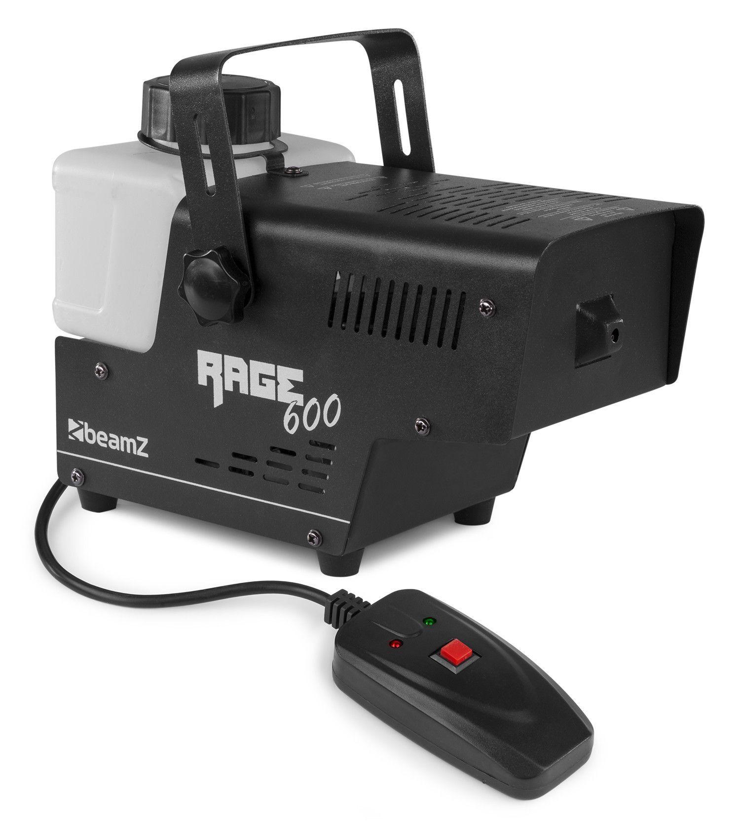 BeamZ RAGE600I rookmachine 600W met bedrade afstandsbediening