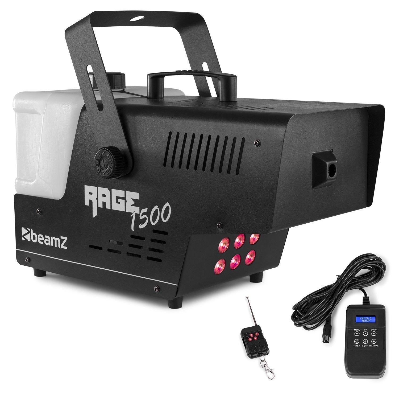 BeamZ RAGE1500LED rookmachine met draadloze afstandsbediening