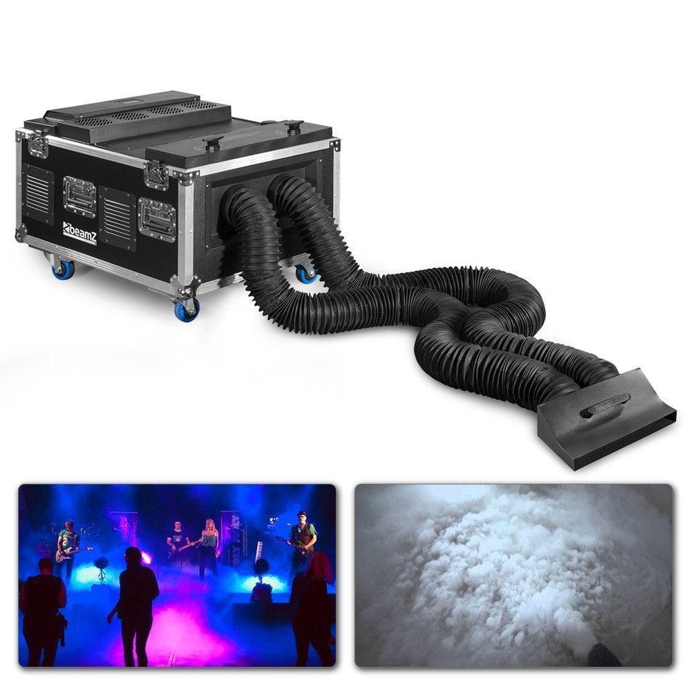 BeamZ LF6000 Low Fog rookmachine met dubbele output voor laaghangende rook