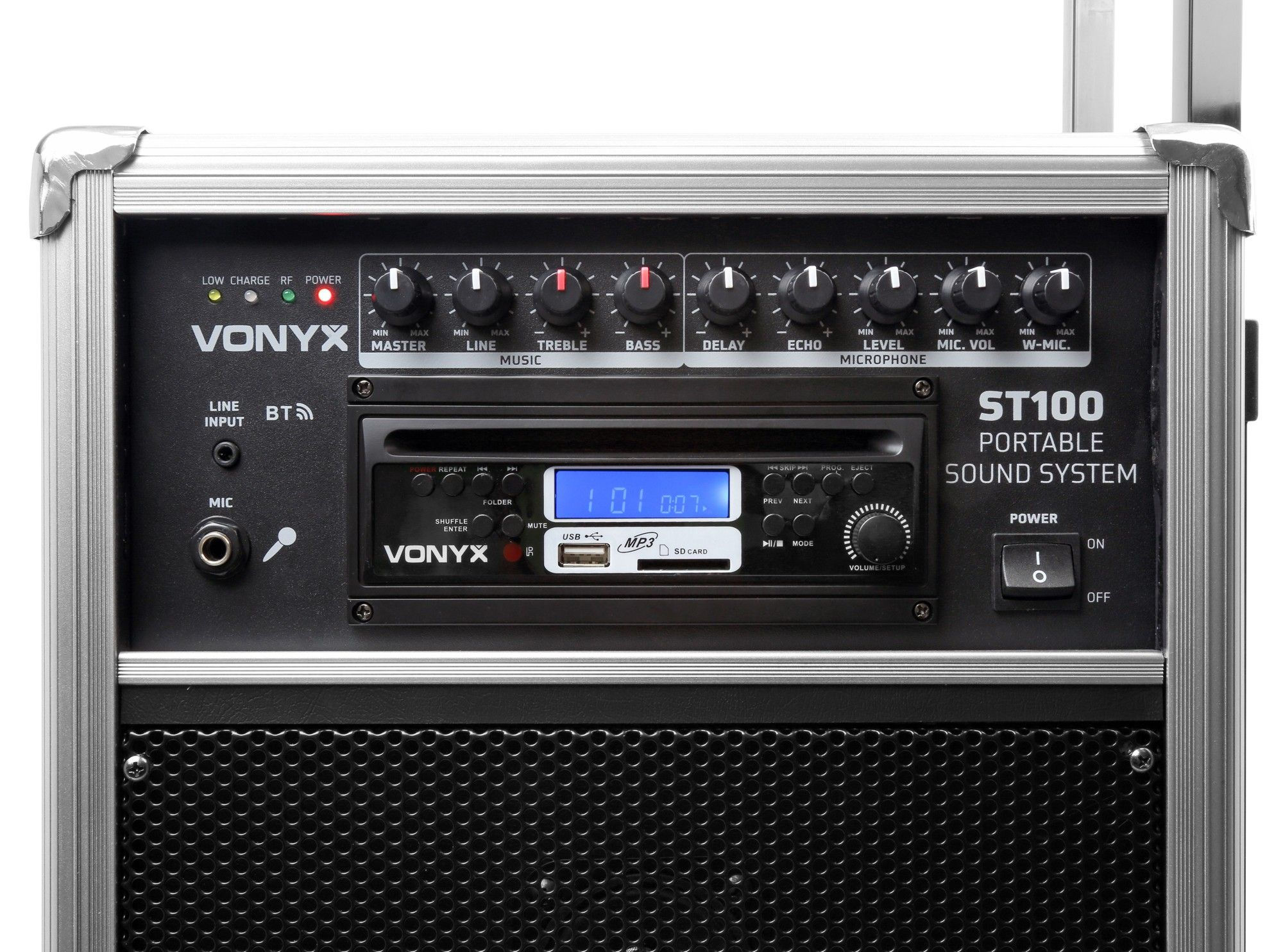 Skytec ST100 MK2 mobiele geluidsset