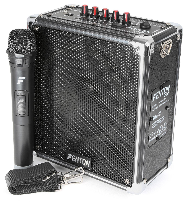 Afbeelding van 2e keus - Fenton ST040 Mobiele geluidsinstallatie met Bluetooth en dra...