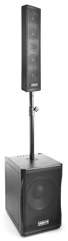 Afbeelding van 2e keus - Vonyx VX1200 actieve 750W full range 2-weg speakerset...