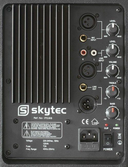 Skytec SP1200A 12 inch actieve luidspreker