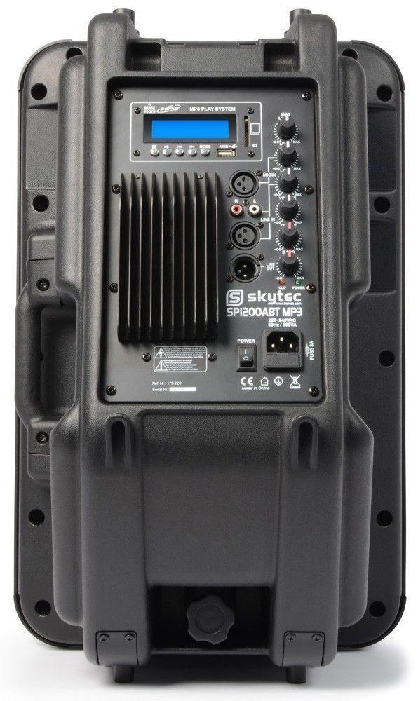 SkyTec SPBT1200A Actieve speaker 600 Watt met bluetooth en USB/MP3 thumbnail