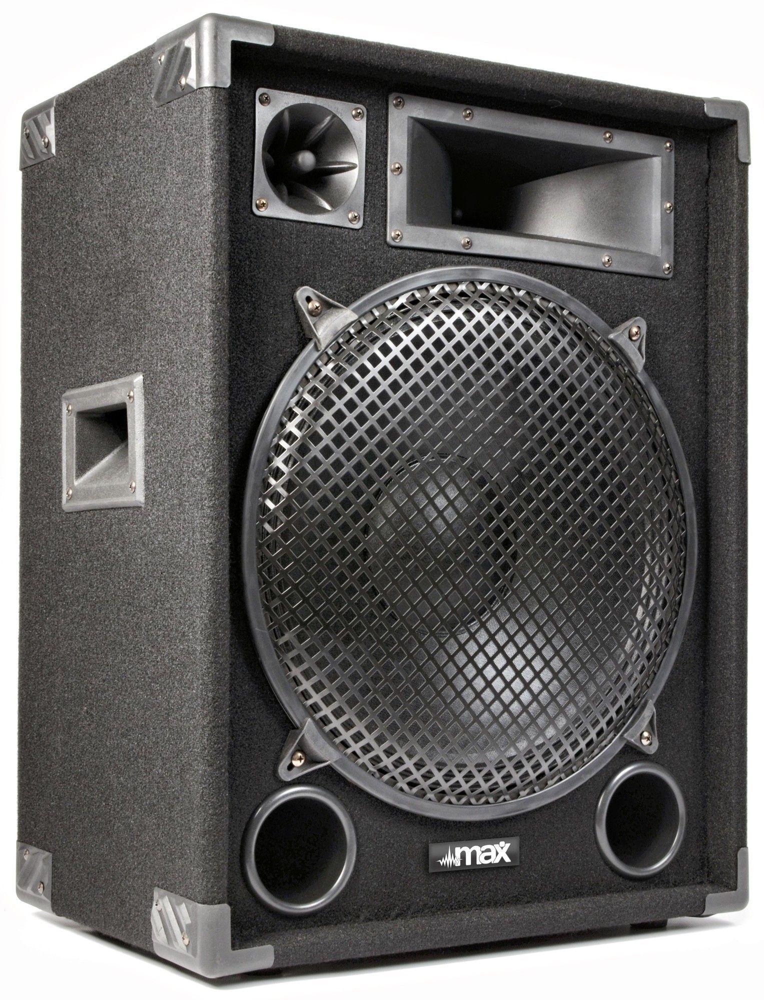 "MAX15 disco speaker 15"" 1000 Watt thumbnail"