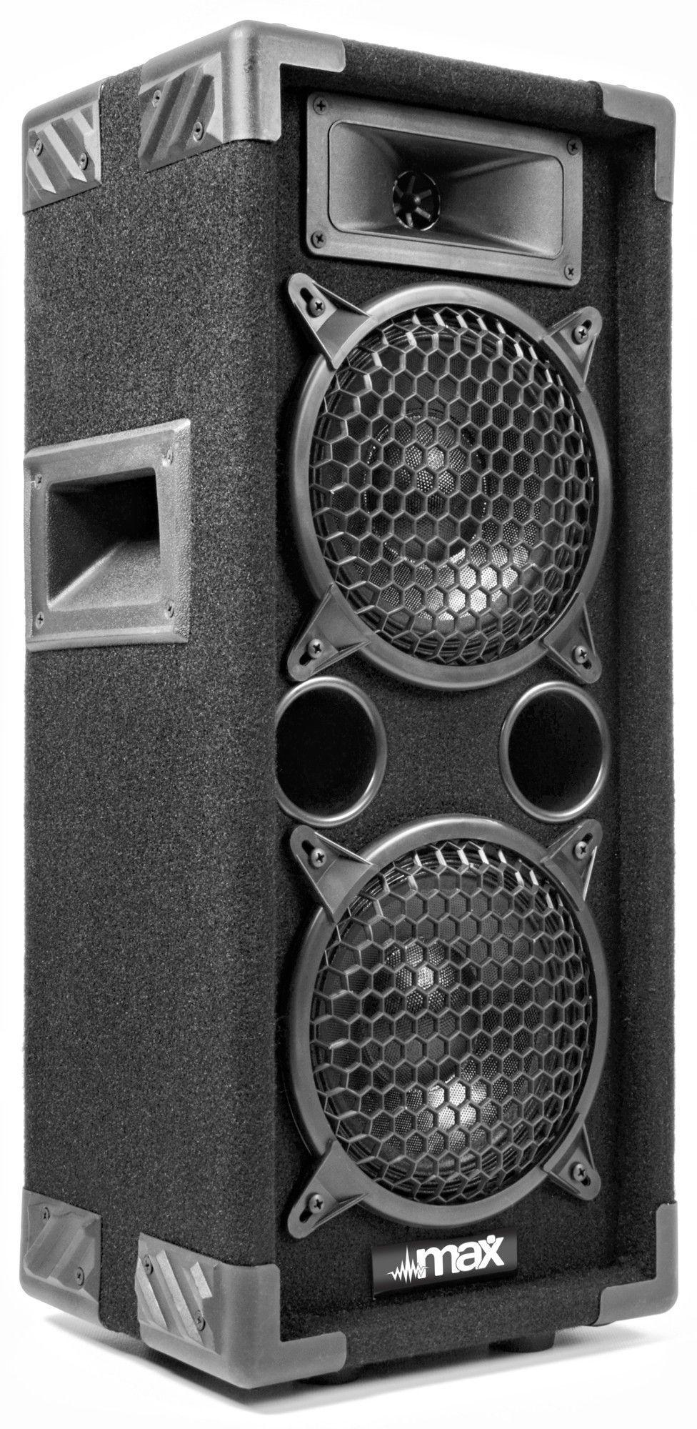 "Afbeelding van 2e keus - MAX Disco Speaker MAX26 600W 2x 6""..."
