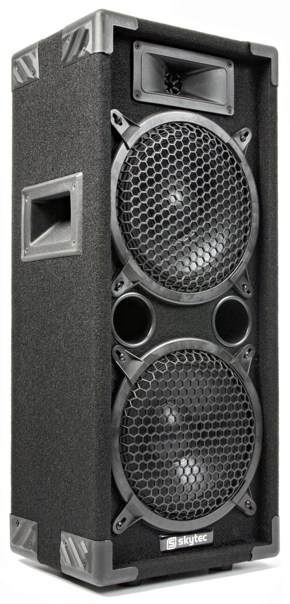 "SkyTec MAX28 disco speaker 2x 8"" 800Watt thumbnail"