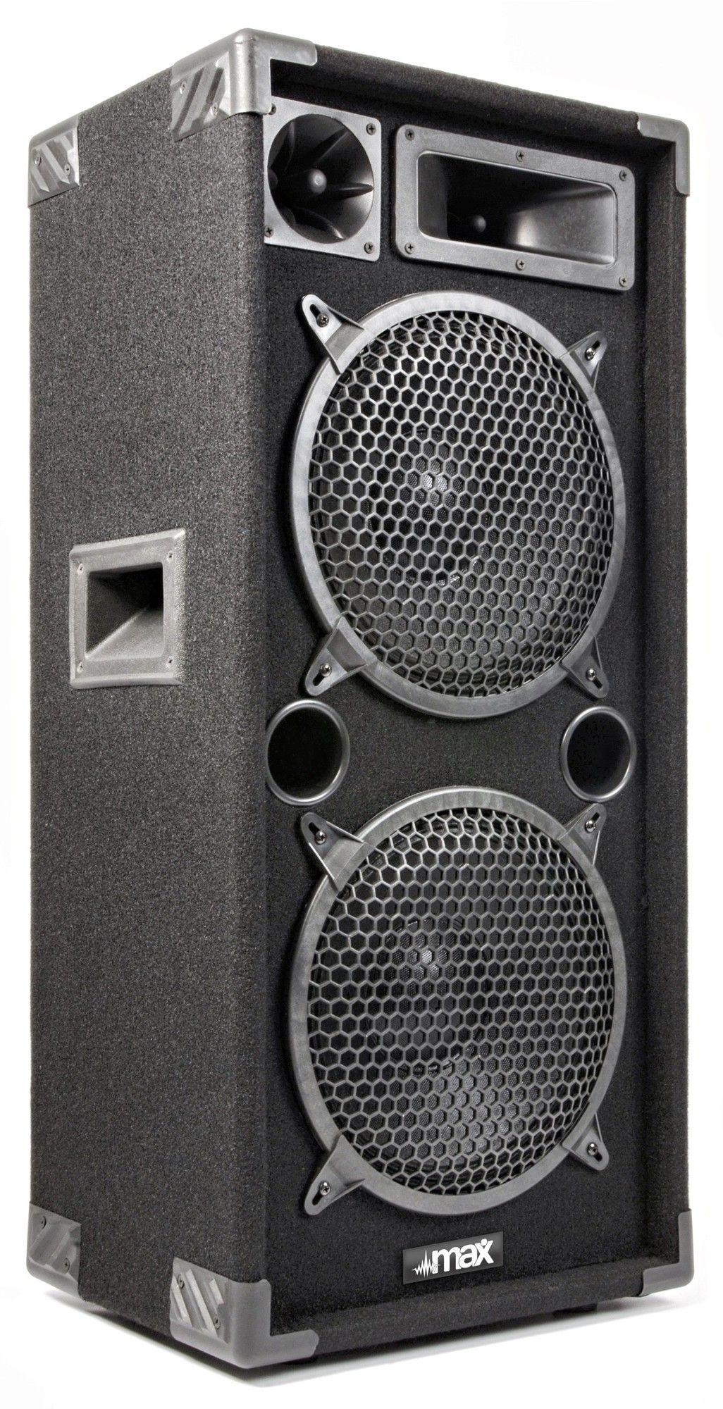 """MAX210 disco speaker 2x 10"""" 1000Watt thumbnail"""