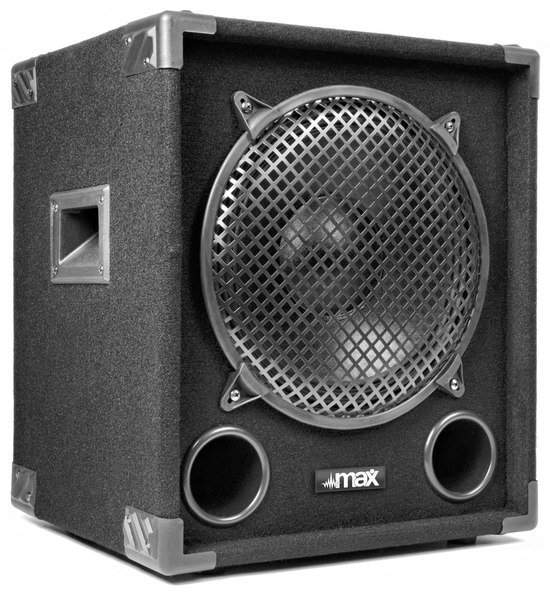 """Afbeelding van 2e keus - MAX Disco Subwoofer MAX12SUB 800W 12""""..."""