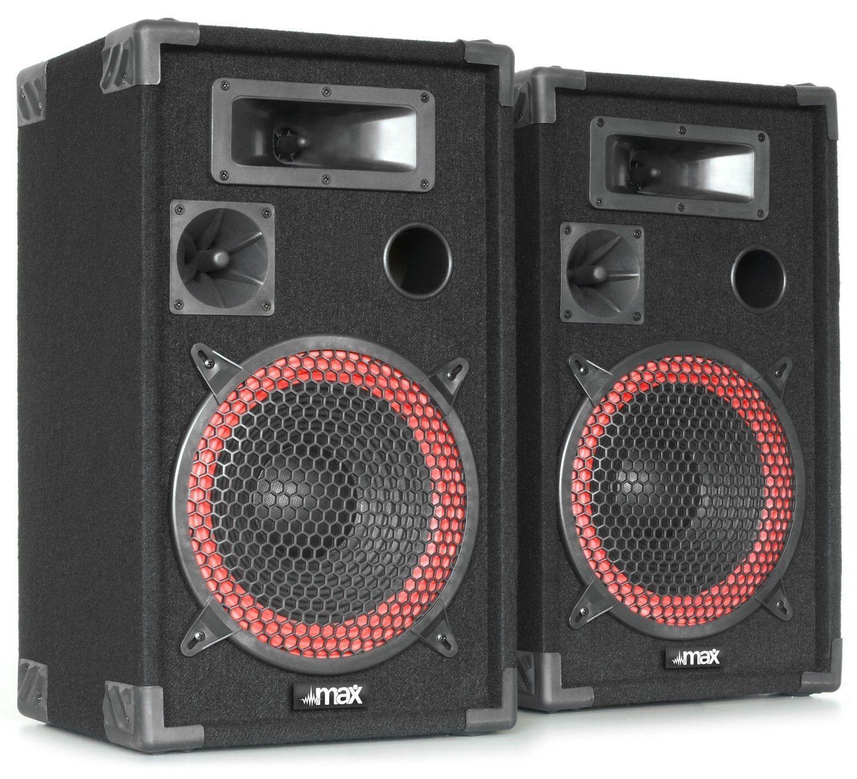 "Afbeelding van 2e keus - MAX XEN-3512 set PA luidspreker boxen 12"" 1000W..."
