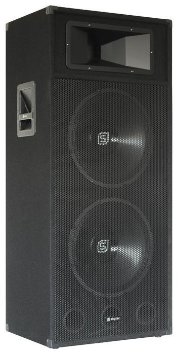 B Stock Skytec Sm215 Full Range Disco Pa Luidspreker 2 X 15 Inch 1200w Skytec kopen