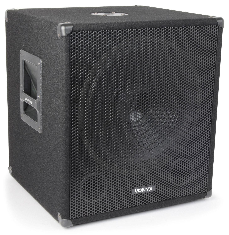 Vonyx SWA15 600 Watt Disco Subwoofer 15 inch