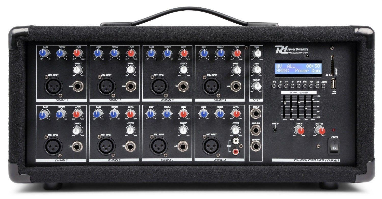 Afbeelding van 2e keus - Power Dynamics PDM-C805A 8 kanaals mixer met ingebouwde vers...