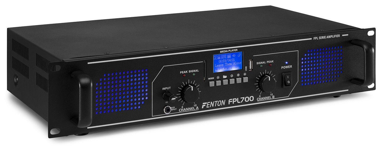 Afbeelding van 2e keus - Fenton FPL700 Digitale versterker 2x 350W met Bluetooth en m...