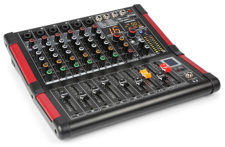 Power Dynamics PDM-M604 6 kanaals muziek mixer