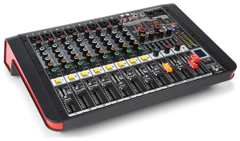 Power Dynamics PDM-M804A 8 kanaals muziek mixer / versterker