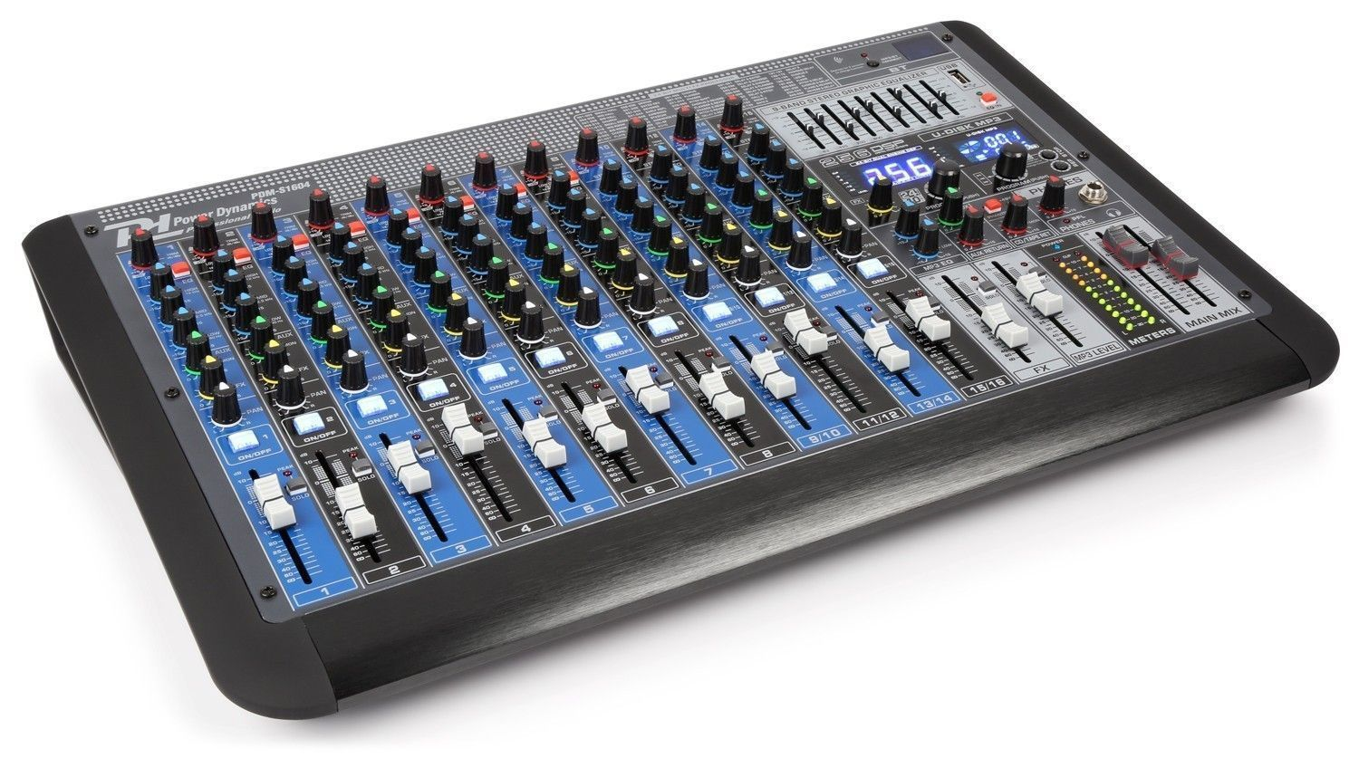 Power Dynamics PDM-S1604 professionele 16 kanaals mixer