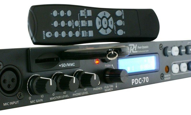 Power Dynamics PDC-70 USB en SD speler 1U