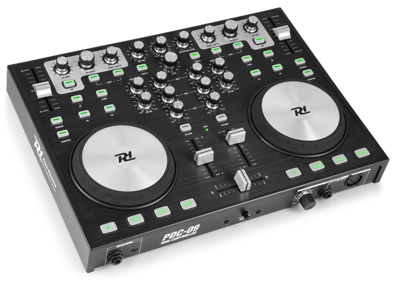 Afbeelding van Power Dynamics PDC09 DJ controller incl. Virtual DJ...