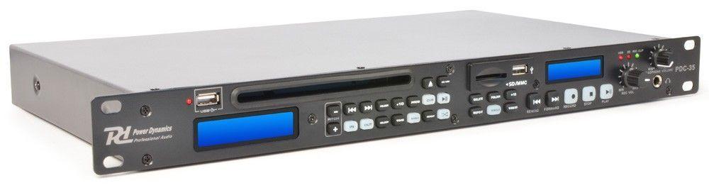 Power Dynamics PDC-35 CD / USB / SD speler met record functie