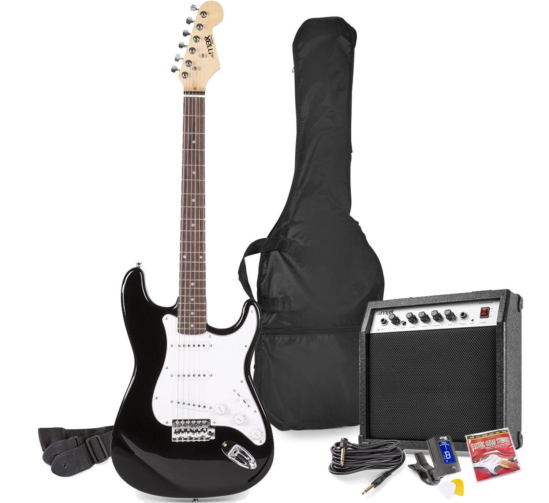 MAX GigKit elektrische gitaar starterset met o.a. 40W versterker -