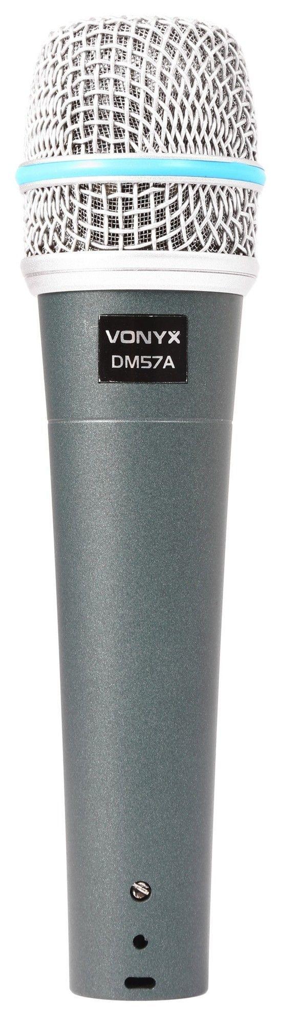 Vonyx DM57A Dynamische vocale microfoon met kabel