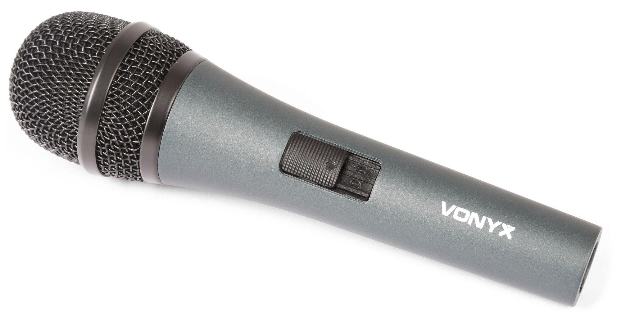 VonyX DM825 Dynamische vocale microfoon met kabel
