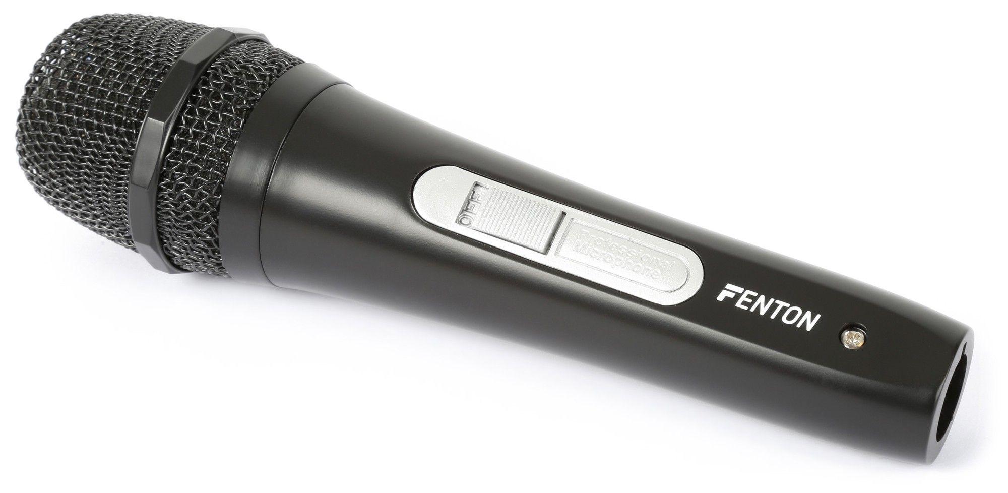 Afbeelding van Fenton DM110 Dynamische microfoon met XLR aansluiting en kabel...