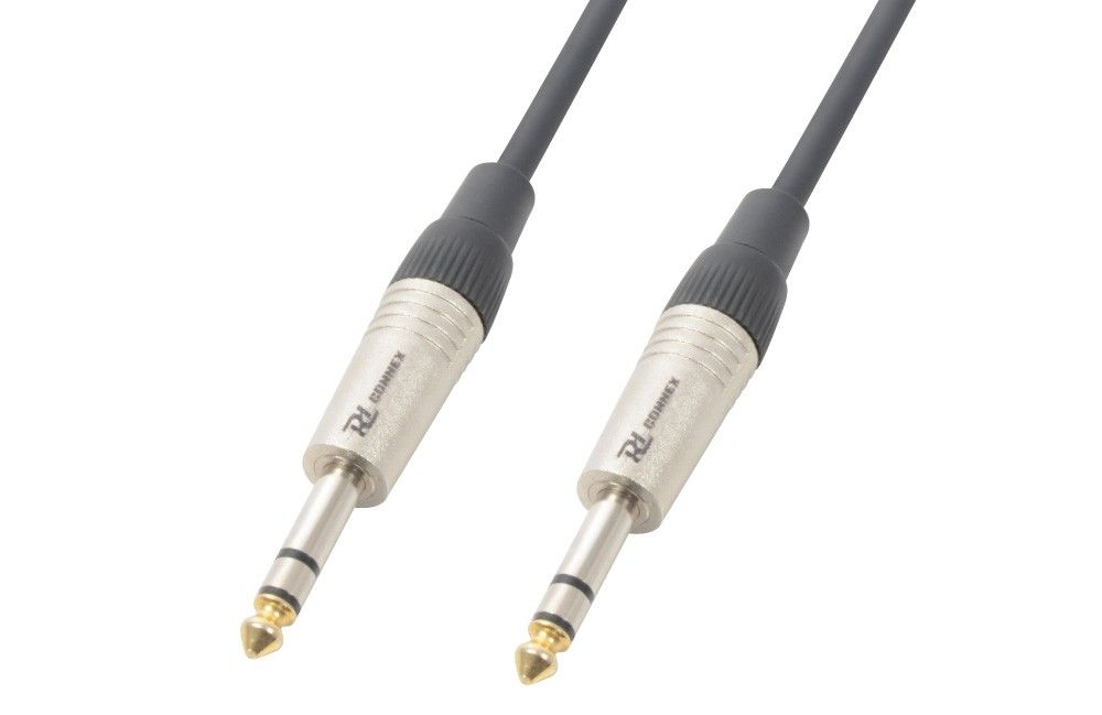 PD Connex Kabel 6.3 Stereo - 6.3 Stereo 3 meter