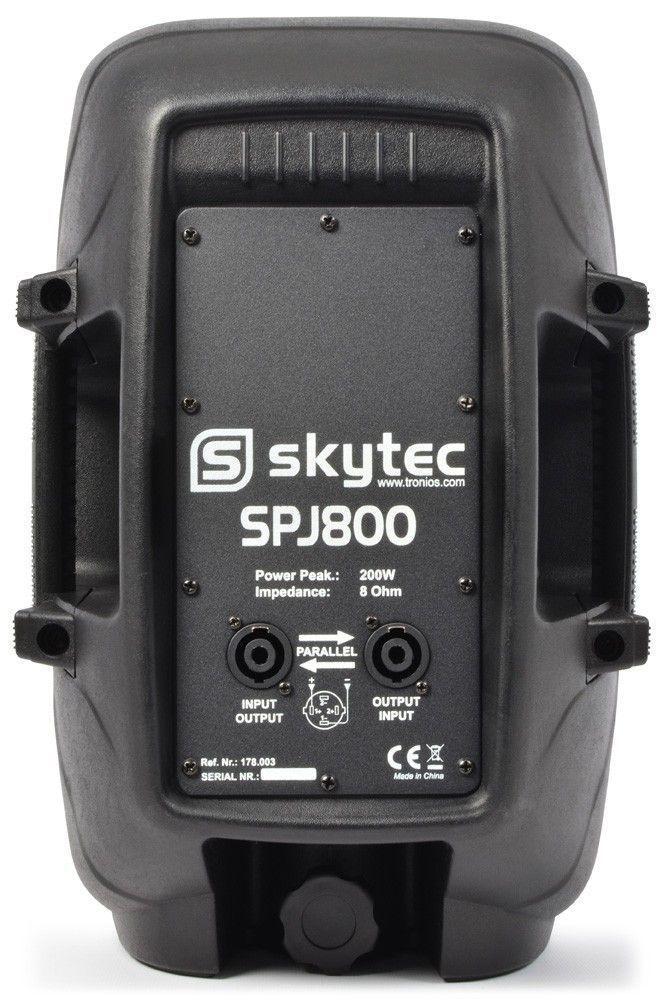 """SkyTec SPJ800 passieve speaker 8"""" 200 Watt thumbnail"""