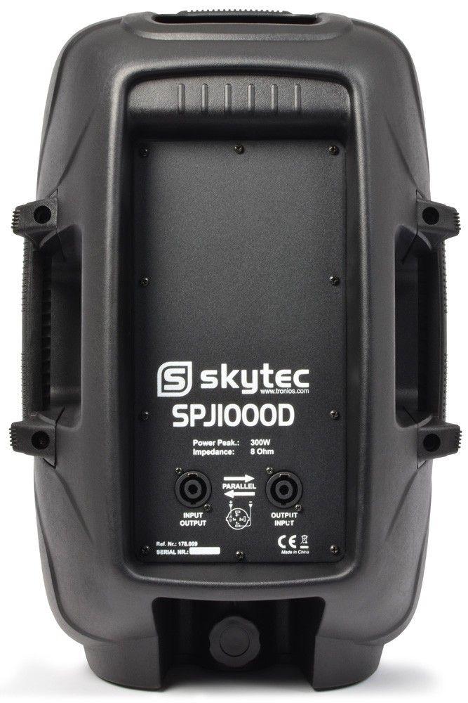 """SkyTec SPJ1000D passieve speaker 10"""" 300 Watt thumbnail"""