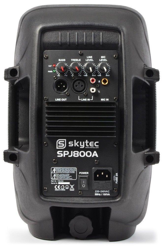 """SkyTec SPJ-800A actieve 8"""" speaker 200 Watt thumbnail"""