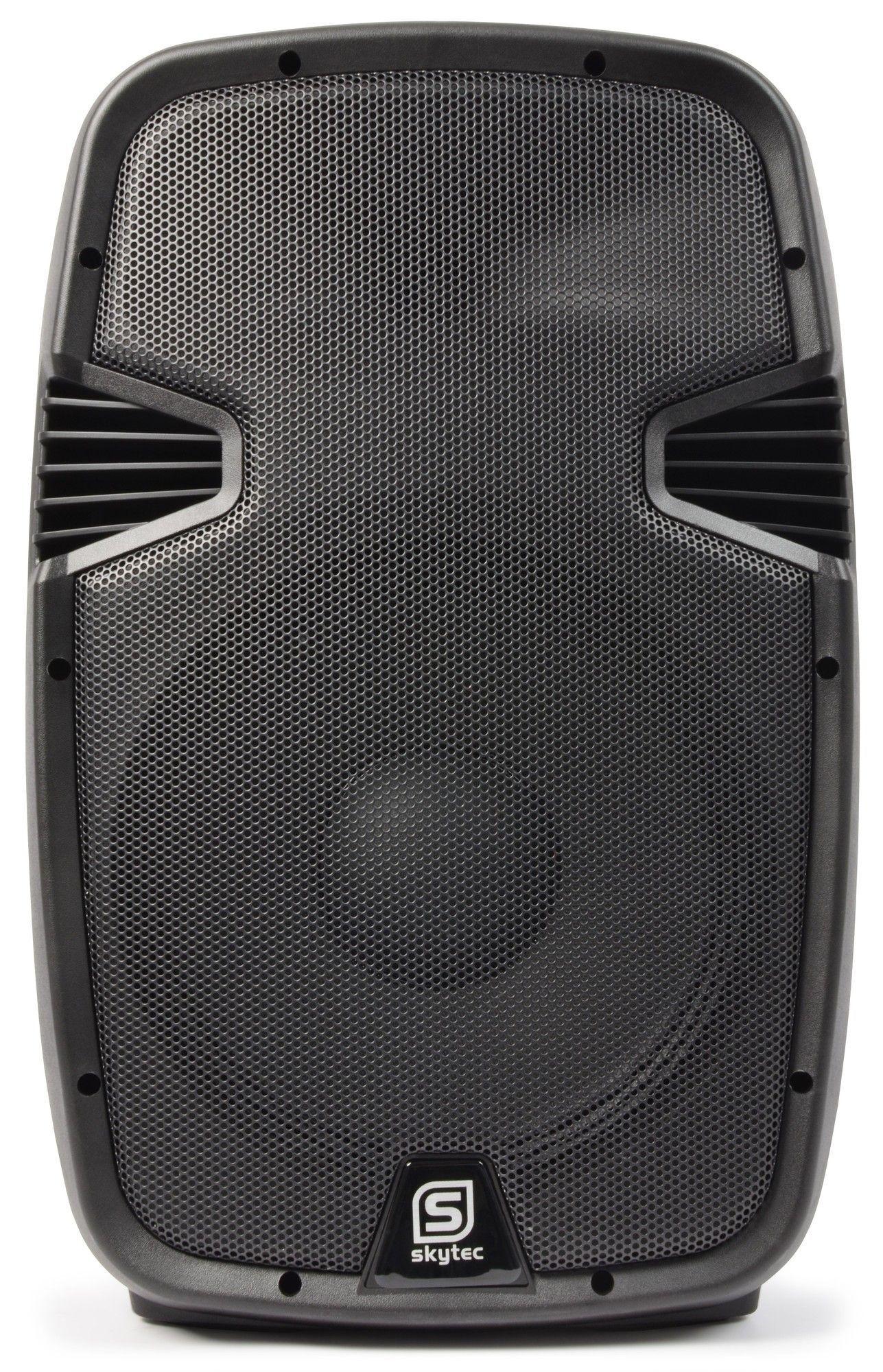 """SkyTec SPJ-1200A VHF actieve 12"""" speaker met draadloze microfoon 600 Watt thumbnail"""