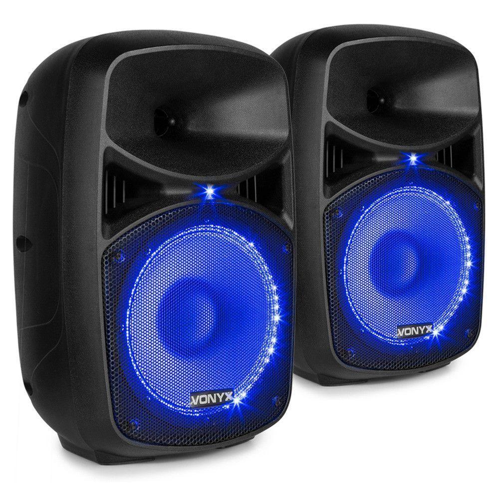 Dagaanbieding - Vonyx VPS082A geluidsinstallatie 400W met Bluetooth en LED's dagelijkse koopjes