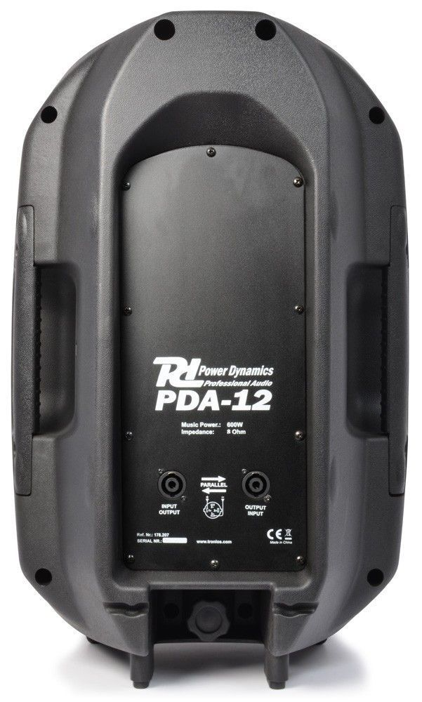 "Power Dynamics PDA-12 passieve 12"" PA speaker thumbnail"