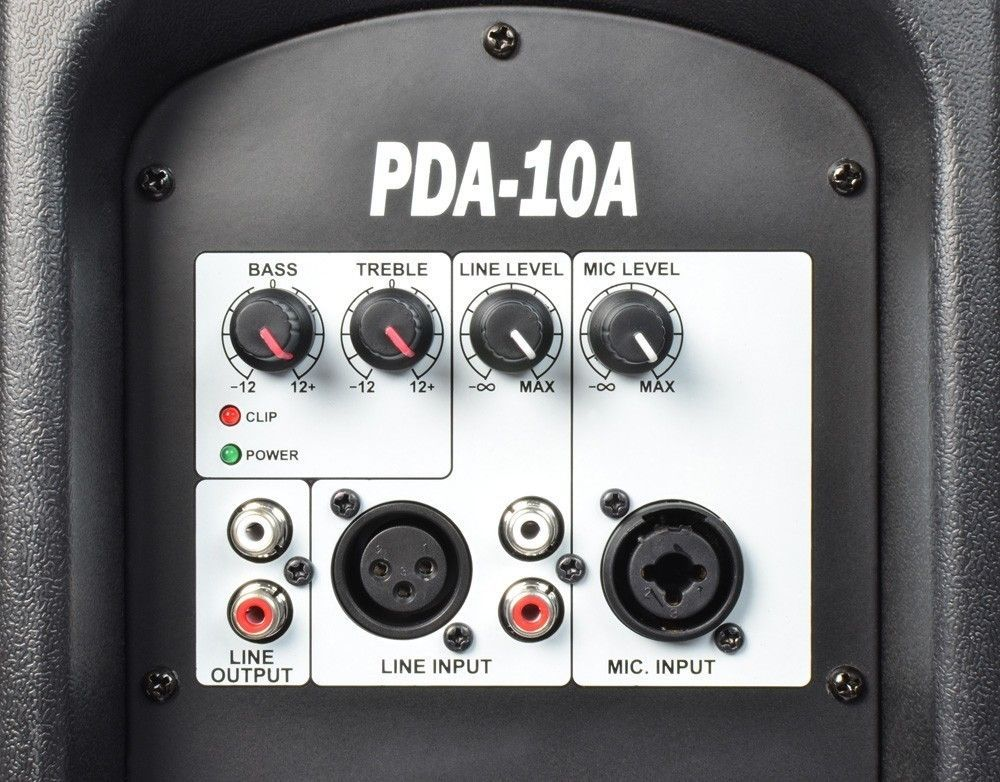 "Power Dynamics PDA-10A Actieve speaker 10"" 700 watt thumbnail"